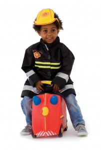 Kinderkoffer Feuerwehr von Trunki